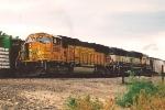 Eastbound coal train prepares to depart