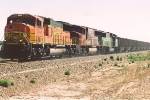 Westbound coal empties