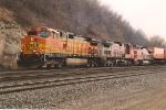 Westbound Z train through Hoffman