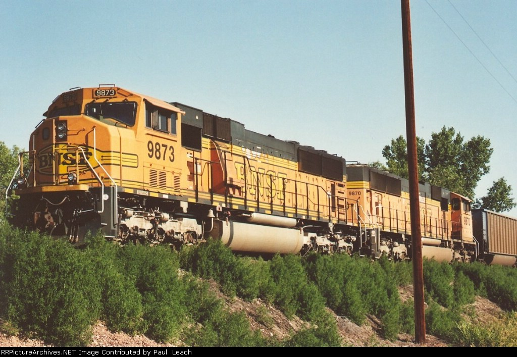 Coal train parked