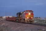 Warbonnet at sunset