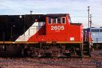 CN 2605 profile