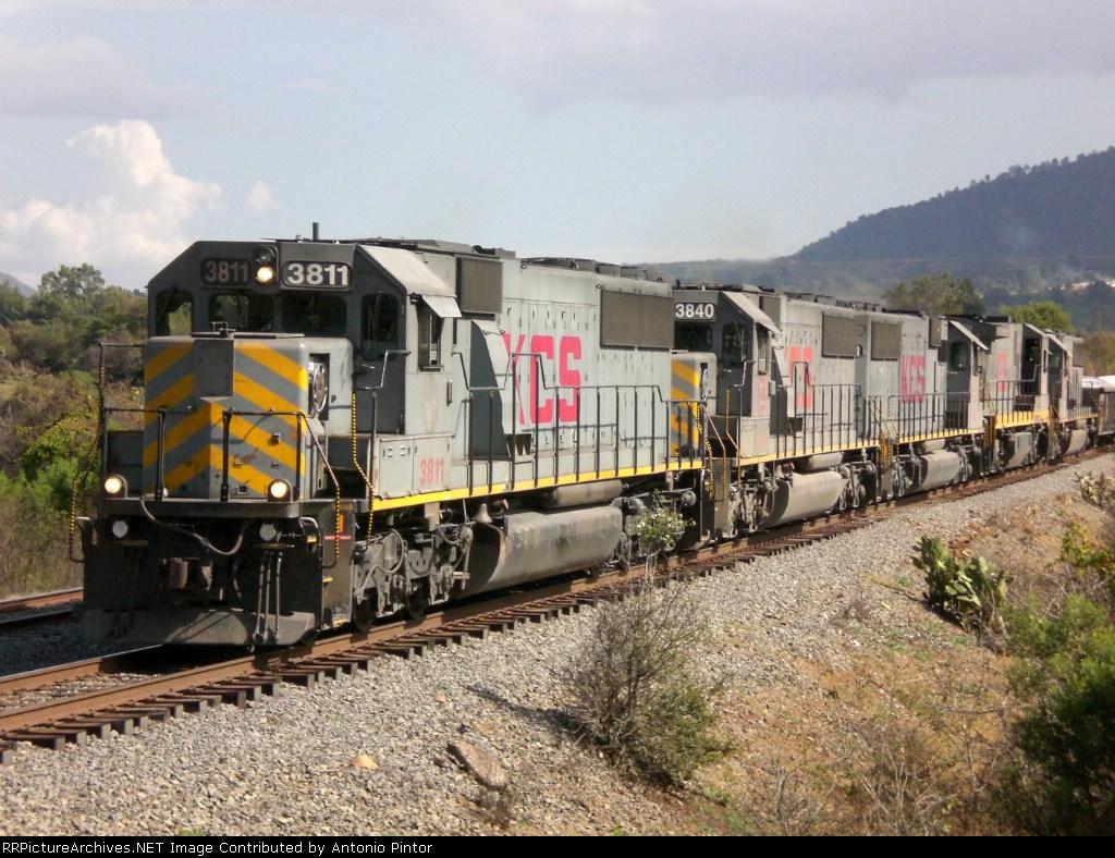 KCS 3811 in Patzcuaro Michoacan
