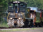 If you Zoom in, you can notice the Norfolk Southern symbol on the Conductor Side Seat.