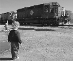 Young Railfan