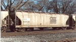 CSX Transportation logo on a covered hopper