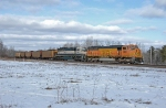 BNSF 9951 leading Coal Loads