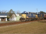 Finally! Some Nice EMD power on a Southbound loaded Herzog Rock Train