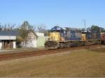 Finally! Some Nice EMD power on a Southbound loaded Herzog Rock Train