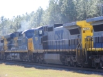"CSXT 5438 & 7354 ""sandwiched"" in a power movement"