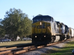 CSXT 7786 leads a Northbound Mixed Freight