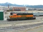 BNSF 8087 SD40-2