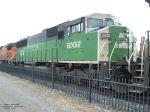 BNSF 9236 SD60M