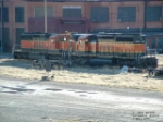 Pair of BNSF SD40-2's sitting outside Talgo-LRC shops