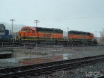 BNSF 6835 and FURX 7265