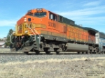 BNSF 5030 heading coal over Bozeman Pass