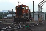 BNSF 3466 at the servicing facility