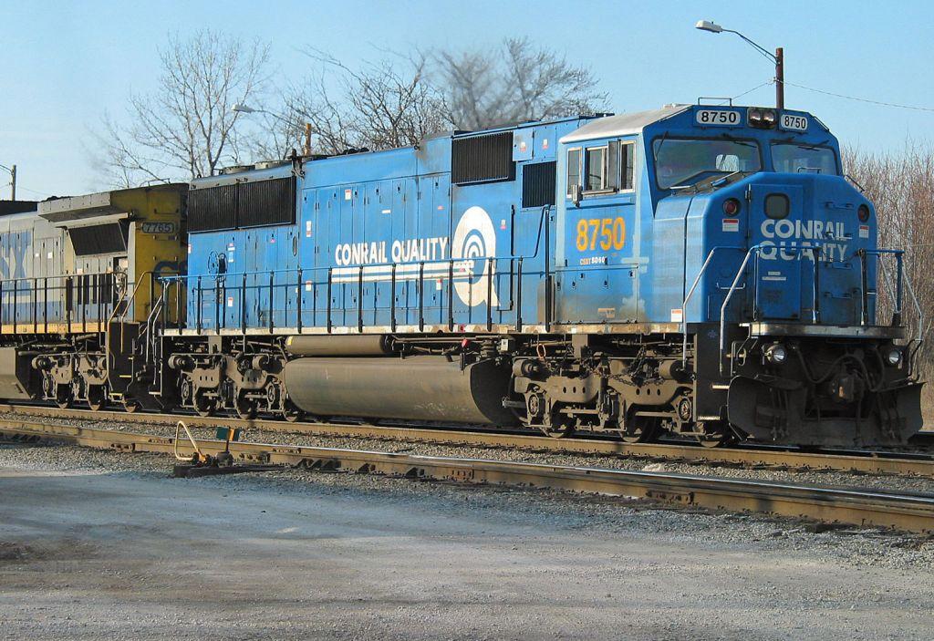 EX-Conrail locomotive