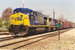 Southbound manifest approaches diamond