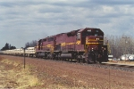 Southbound limestone empties