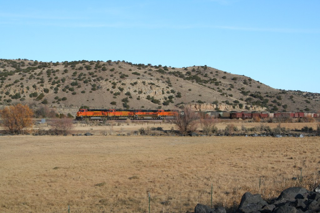 Westbound coal across New Mexico