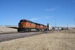 BNSF 4459 West