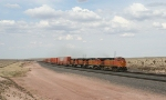 BNSF 4119 West (4 matched -9s)