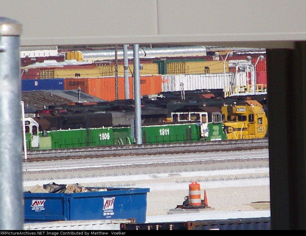 Trainshops at Tennesee Yard, one of two