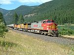 Eastbound Intermodal train