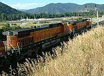 BNSF Eastbound Freight