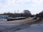 CSX Greenville Yard Office and Locomotive