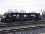 NS 5564 & 7053 rest over the weekend