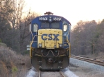 Head on Shot of CSXT 5870