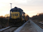 CSXT 5870 in the Sunset