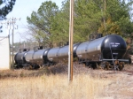 4 more new tank cars being stored