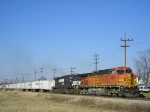 BNSF 4610 On NS 251 Eastbound
