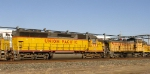 """UP SW1500 and """"SD45"""""""