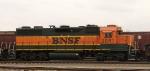 BNSF 2851 missing striping