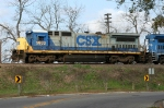 CSX 5933 leads M742 home