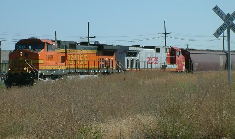 BNSF Westbound Freight