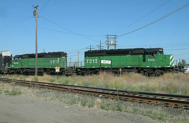 ex-BN SD40-2's