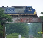 CSX northbound passing