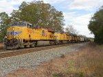 Northbound phosphate train