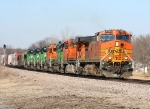 BNSF 4123/all the SD40-2 units are off line and have FURX markings