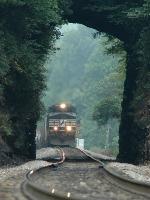 NS 135 at Jarrett's Tunnel
