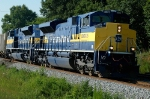 EMD SD70M-2's on NS 119