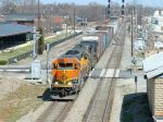 NS 173 with BNSF and UP power