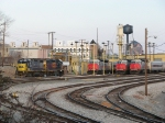 CSX and MARC power waits out the weekend