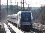 164 slows for its BWI station stop