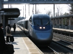Express train 2208 arrives at BWI